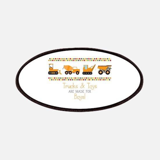 Trucks & Toys Patch