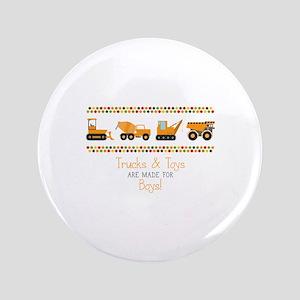 Trucks & Toys Button