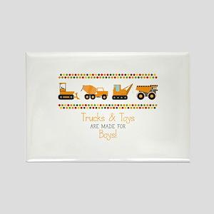 Trucks & Toys Magnets