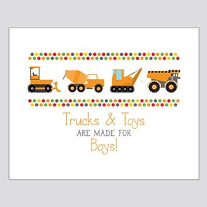 Trucks & Toys Posters