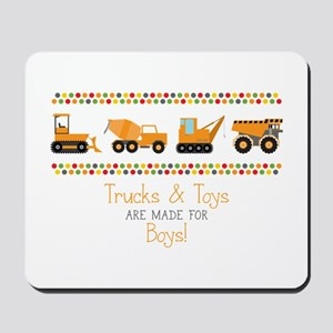 Trucks & Toys Mousepad