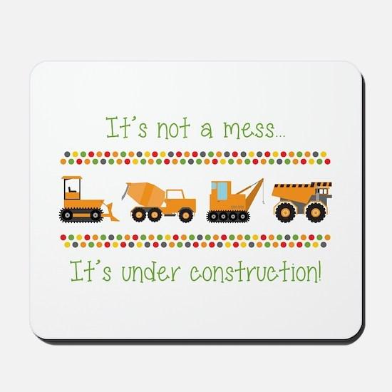 Under Construction Mousepad