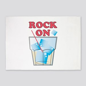 Rock On 5'x7'Area Rug