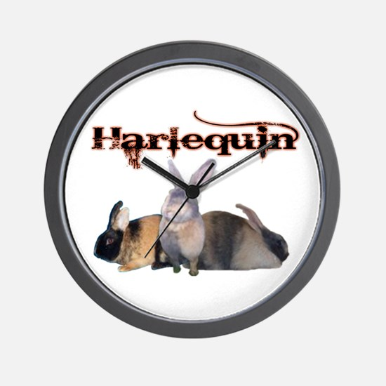 The Harlequin Wall Clock