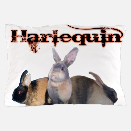 The Harlequin Pillow Case