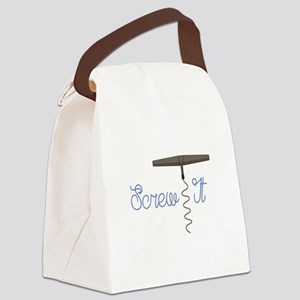 Screw It Canvas Lunch Bag