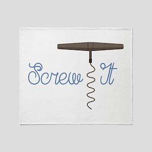 Screw It Throw Blanket