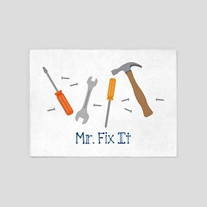 Mr Fix It 5'x7'Area Rug