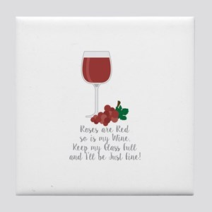 Keep Glass Full Tile Coaster