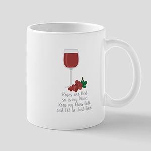 Keep Glass Full Mugs