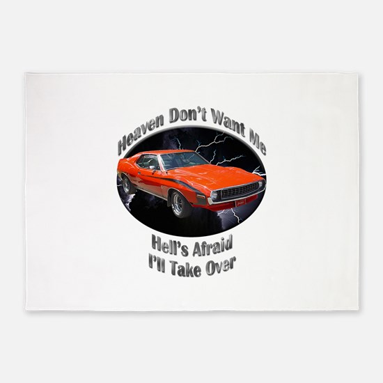 AMC Javelin 5`x7`Area Rug