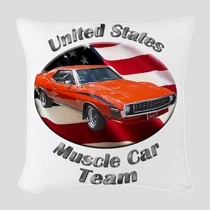 AMC Javelin Woven Throw Pillow