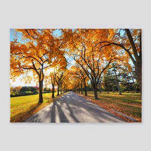 Autumn Road 5'x7'Area Rug