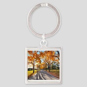 Autumn Road Keychains