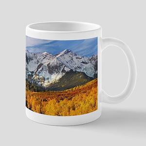 Autumn Mountain Landscape Mugs
