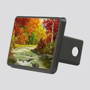 Autumn Landscape Rectangular Hitch Cover