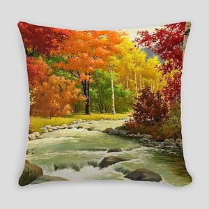 Autumn Landscape Everyday Pillow