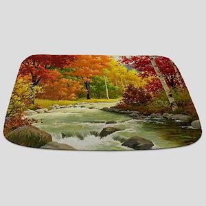 Autumn Landscape Bathmat
