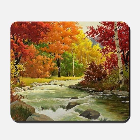 Autumn Landscape Mousepad