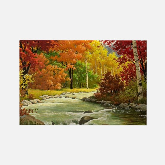 Autumn Landscape Magnets