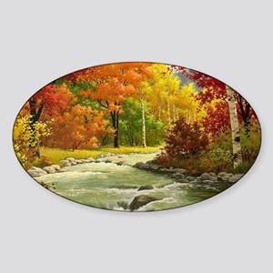 Autumn Landscape Sticker