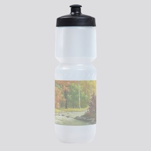 Autumn Landscape Sports Bottle
