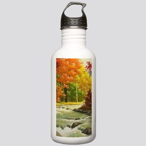 Autumn Landscape Sports Water Bottle