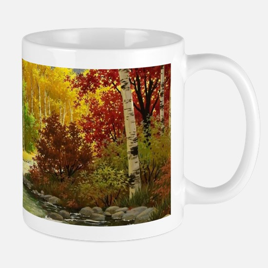 Autumn Landscape Mugs