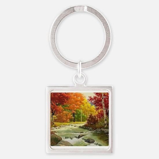 Autumn Landscape Keychains