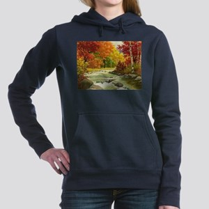 Autumn Landscape Women's Hooded Sweatshirt