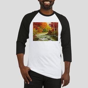 Autumn Landscape Baseball Jersey