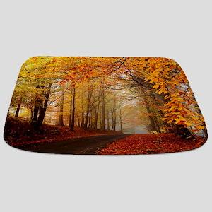 Road At Autumn Bathmat