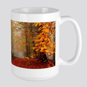 Road At Autumn Mugs