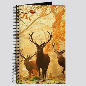 Deer In Autumn Forest Journal