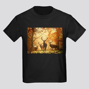 Deer In Autumn Forest T-Shirt