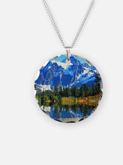 Mountain At Autumn Necklace