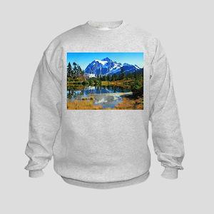 Mountain At Autumn Sweatshirt