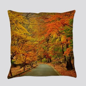 Park At Autumn Everyday Pillow