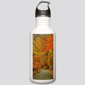 Park At Autumn Sports Water Bottle