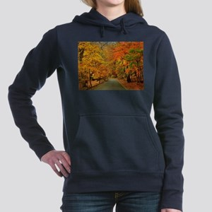 Park At Autumn Women's Hooded Sweatshirt