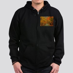 Park At Autumn Zip Hoody