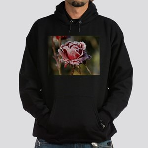 Rose With Frost On It Hoody