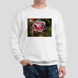 Rose With Frost On It Jumper