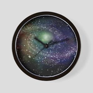 'Rainbow Galaxy' Wall Clock