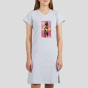 Ms Marvel Standing 2 Women's Nightshirt
