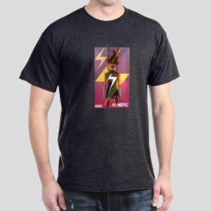 Ms Marvel Standing 2 Dark T-Shirt