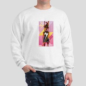 Ms Marvel Standing 2 Sweatshirt