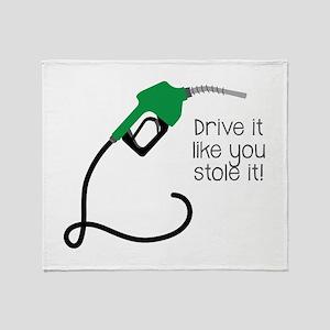 Drive It Throw Blanket