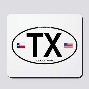 Texas Euro Oval - TX Mousepad