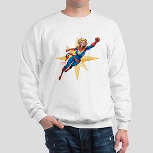 Captain Marvel Flying Sweatshirt